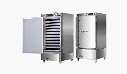 Tủ nấu cơm công nghiệp bằng hơi nước