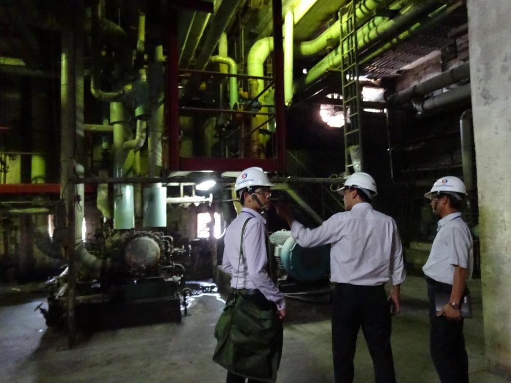Khảo sát năng lượng tại Công ty Giấy Bãi Bằng