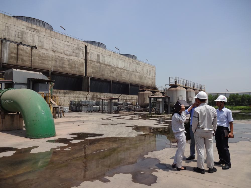 Khảo sát năng lượng tại Công ty đạm Ninh Bình